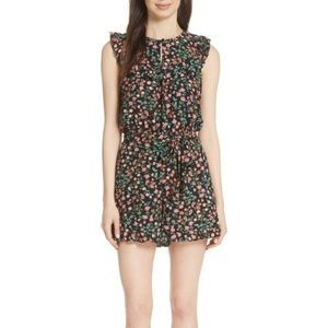 Kate Spade Floral Romper size 8 NWT